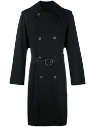 Lanvin Belted Trenchcoat Black