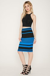 Forever 21 Stripe Bodycon Skirt