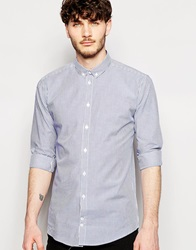 Minimum Fitted Shirt With Long Sleeves And Stretch Skydiver