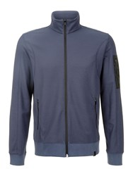 Victorinox Fourier Pique Full Zip Sweatshirt Sea Blue
