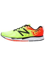 New Balance M 1500 Competition Running Shoes Lime Glo Neon Yellow