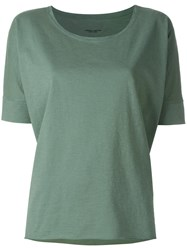 Roberto Collina Loose Fit T Shirt Green