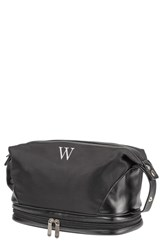 Cathy's Concepts Monogram Toiletry Bag Black W