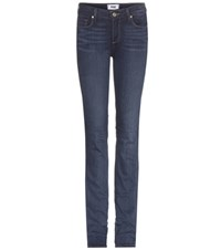 Paige Skyline Straight Jeans Blue