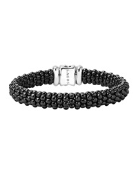 Black Caviar Rope Bracelet 9Mm Lagos