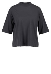 Evenandodd Basic Tshirt Anthracite