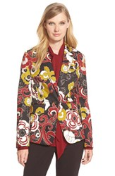 Women's Pink Tartan 'Flower Fleet' Jacket