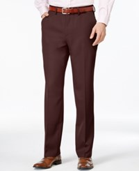 Haggar Dress Straight Flat Front Gabardine Pants