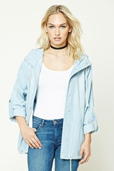 Forever 21 Contemporary Chambray Anorak