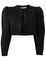 Yves Saint Laurent Vintage Cropped Bolero Jacket Black