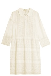 Paul And Joe Embroided Dress White