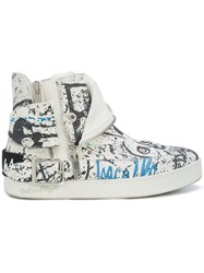 Haculla Insanity Art Sneakers White