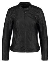 Only Onlnatacha Faux Leather Jacket Black