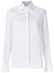 Giuliana Romanno Long Sleeves Shirt White
