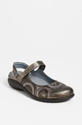 Naot Footwear 'Rongo' Slip On Silver Leather