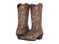 Laredo Sharona Tan Crackle Cowboy Boots Brown