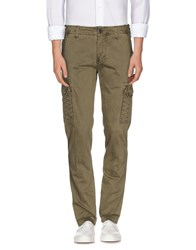 Marville Trousers Casual Trousers Men Military Green