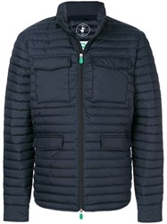 Save The Duck Cargo Padded Jacket Blue