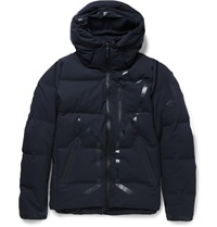 Descente Storm Shell Mizusawa Down Jacket Blue