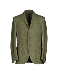 Couture Du Cuir Blazers Military Green