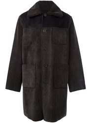 Opening Ceremony Patch Pocket Coat Black