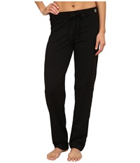 Trina Turk Quilted Track Pants Black Women's Casual Pants