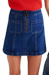 Madewell Women's Denim Miniskirt