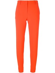Emilio Pucci Straight Leg Trousers Yellow And Orange