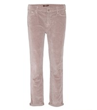 7 For All Mankind Josefina Corduroy Trousers Neutrals