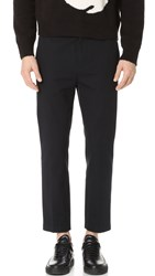 3.1 Phillip Lim Classic Cropped Saddle Pants Midnight