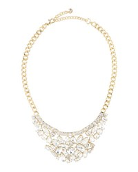 Lydell Nyc Crystal Statement Bib Necklace