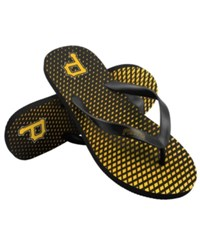 Forever Collectibles Pittsburgh Pirates High End Flip Flops Black