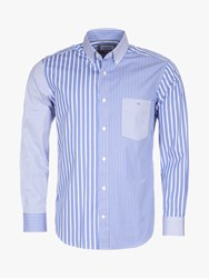 Eden Park Patch Shirt Blue