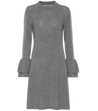 81 Hours Hada Wool And Cashmere Dress Grey