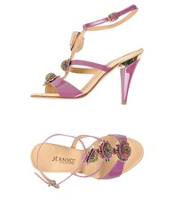 Jeannot Sandals Light Purple