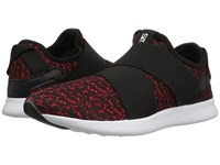 Steve Madden Bryden Black Red Men's Slip On Shoes