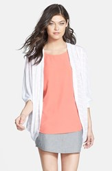 Hinge Women's Open Knit Cardigan
