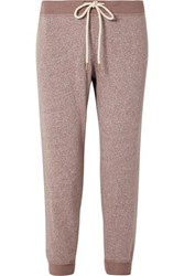 The Great Cropped Jersey Track Pants Pink