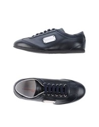 Alessandro Dell'acqua Low Tops And Trainers Dark Blue