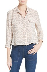 Equipment Women's Signature Crop Silk Shirt