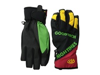 686 Icon Pipe Glove Rasta Extreme Cold Weather Gloves Multi