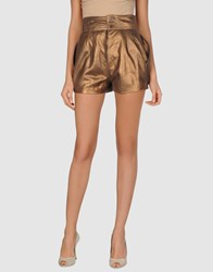 Nude Leatherwear Leather Trousers Women Bronze