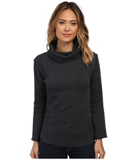 Burton Ellmore L S True Black Heather Women's Long Sleeve Pullover