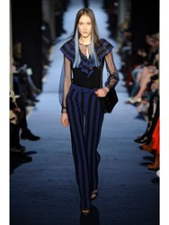 Alexis Mabille Victorian Top Blue