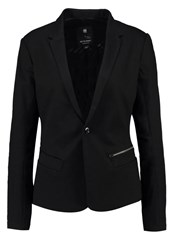 G Star Gstar Bronson Zip Lean Blazer Blazer Rinsed Pressed Black