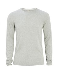 Bench Men's Xenial Crew Neck Jumper Grey Marl