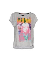Andy Warhol By Pepe Jeans T Shirts Grey