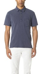 Todd Snyder Weathered Pocket Polo Navy