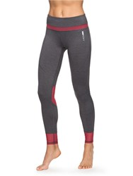 Roxy Hanakka High Waist Leggings Grey
