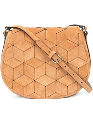 Welden Woven Crossbody Bag Tan